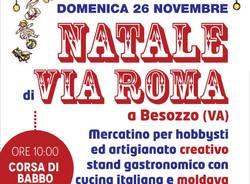 mercatino NATALE DI VIA ROMA