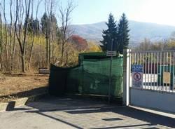 I lavori per l\'ampliamento della piazzola rifiuti