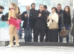 """Saronno anticipa la stazione \""""on ice\"""": aperta la pista"""