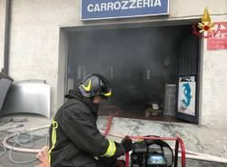 Rogo in un\'officina di Mesenzana
