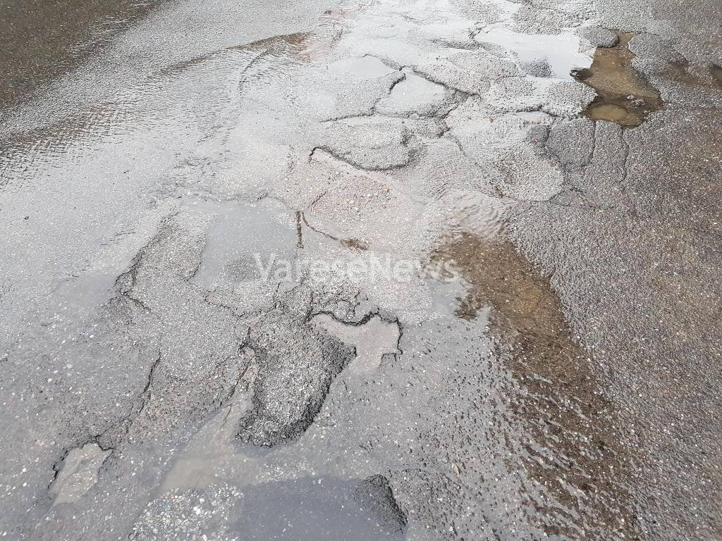 La perdita d\'acqua a Gavirate