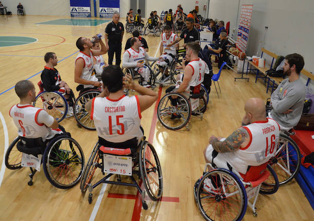 cimberio handicap sport 2017 2018 basket in carrozzina