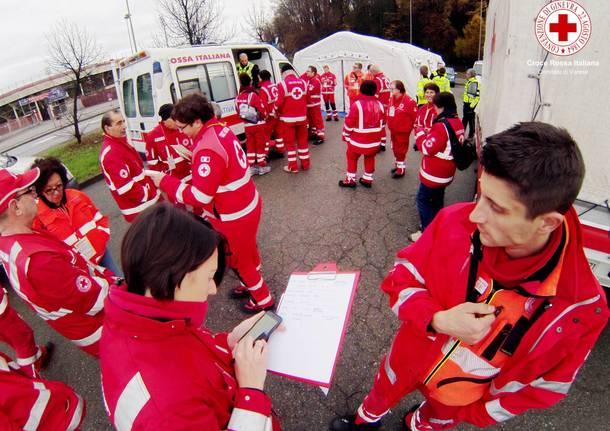 Croce Rossa in prima linea con la colletta alimentare