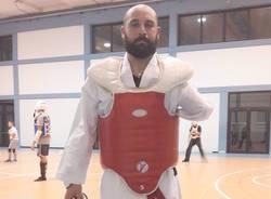 davide spinelli para taekwondo gallarate evolution