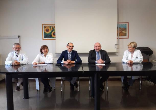 direttore Bravi con professor ghezzi e dottoressa mazzei