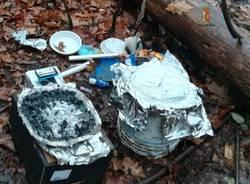 droga commissariato busto arsizio spaccio nei boschi