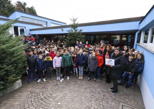 Festa degli Alberi alla scuola primaria di Buguggiate