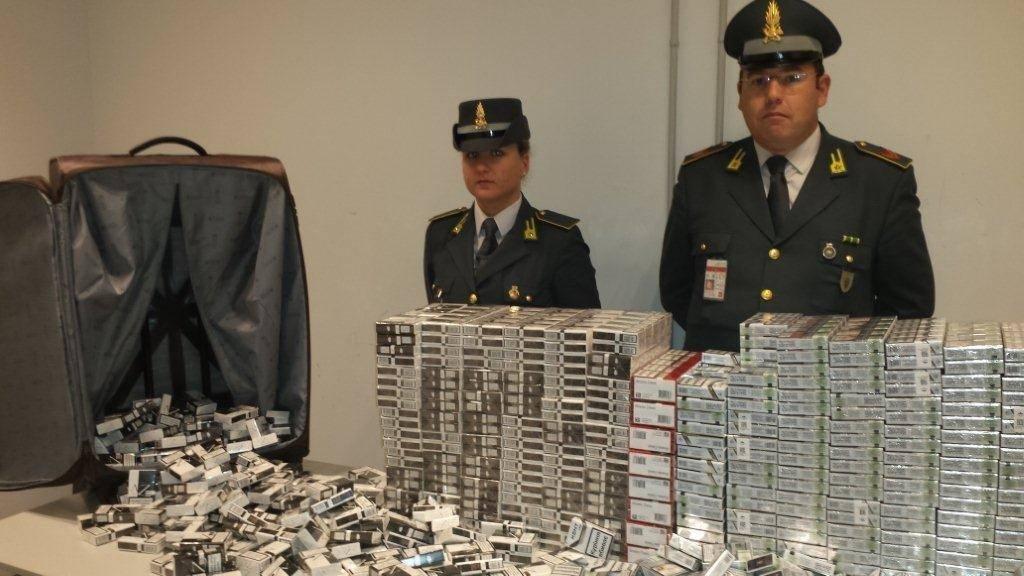 Guardia di Finanza Varese - Operazione Smoking sky