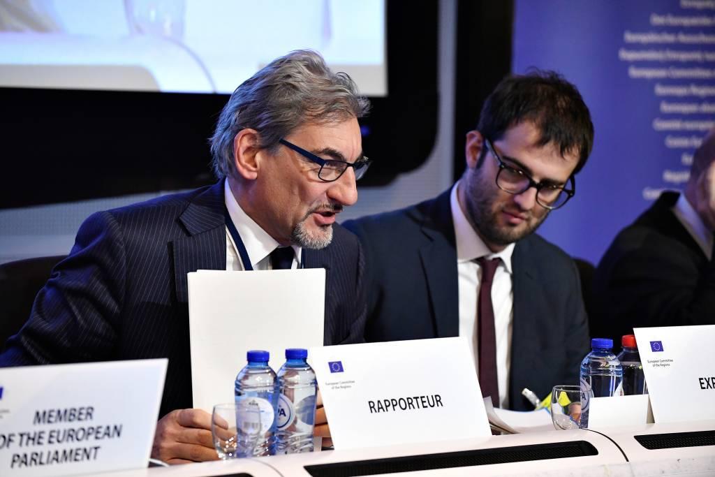Il comitato delle regioni a Bruxelles