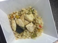 Il piatto di Harvard sa di riso e colora di verdura