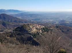 Il Sacro Monte visto dal Campo dei Fiori