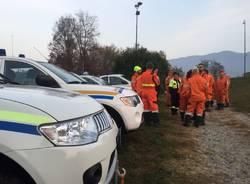 Incendio al Campo dei Fiori, 120 volontari al lavoro