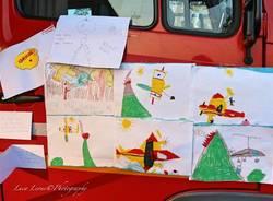 Incendio Campo dei Fiori: i disegni dei bambini
