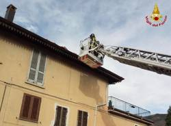 Interventi dei vigili del fuoco per il vento, 13 novembre 2017
