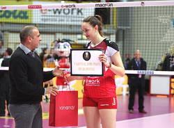 La Unet E-Work Busto Arsizio vince per 3-0 il derby con la Sab Volley Legnano