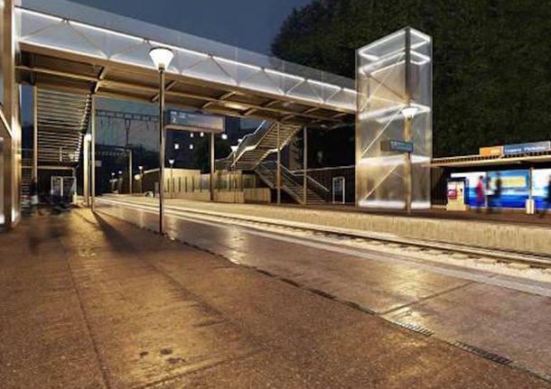 Lugano - Nuova stazione Lugano Paradiso