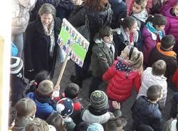 marcia dei bambini primaria Morelli di Busto Arsizio