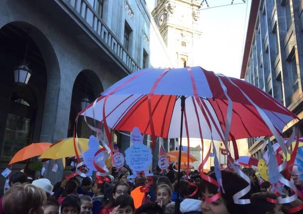 La grande marcia per i diritti dell'infanzia