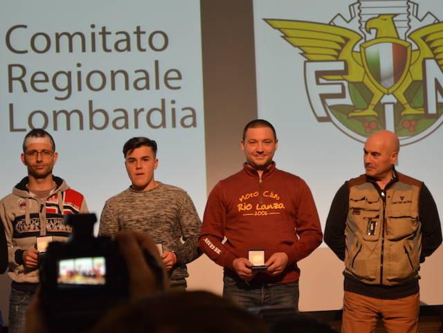 Motociclismo - Premiazioni FIM 2017 Ville Ponti