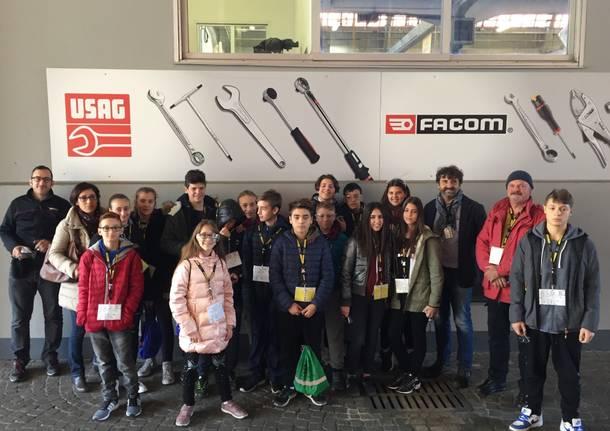 Pmi Day: gli studenti in visita alla Usag