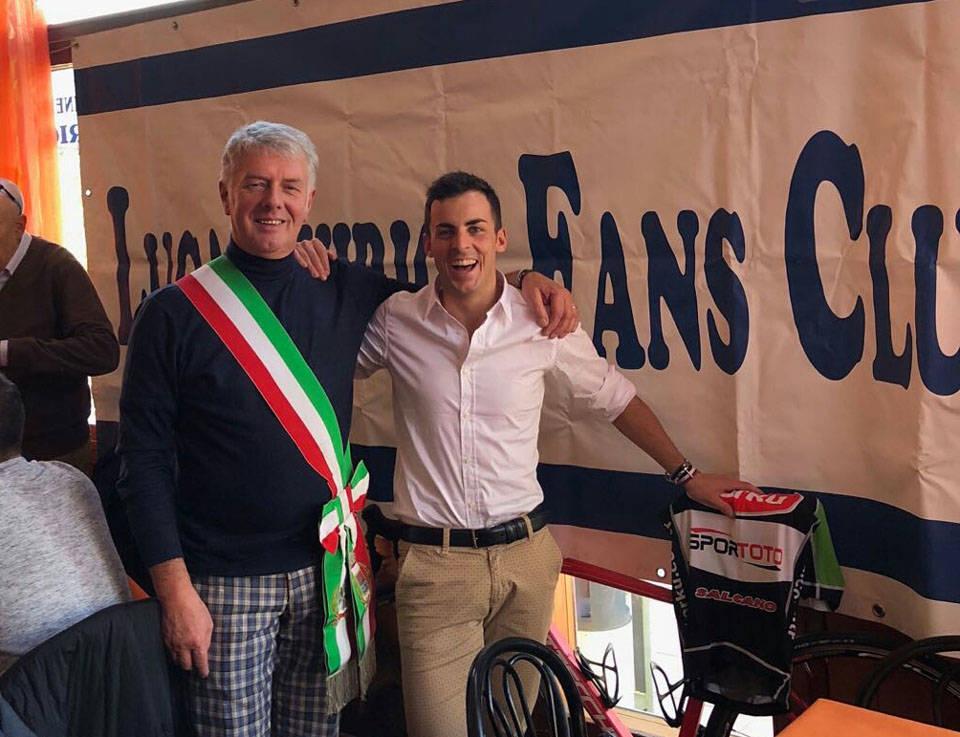 Porto Ceresio: festa per Luca Chirico