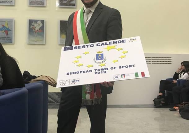 Sesto calende comune europeo dello sport 2019