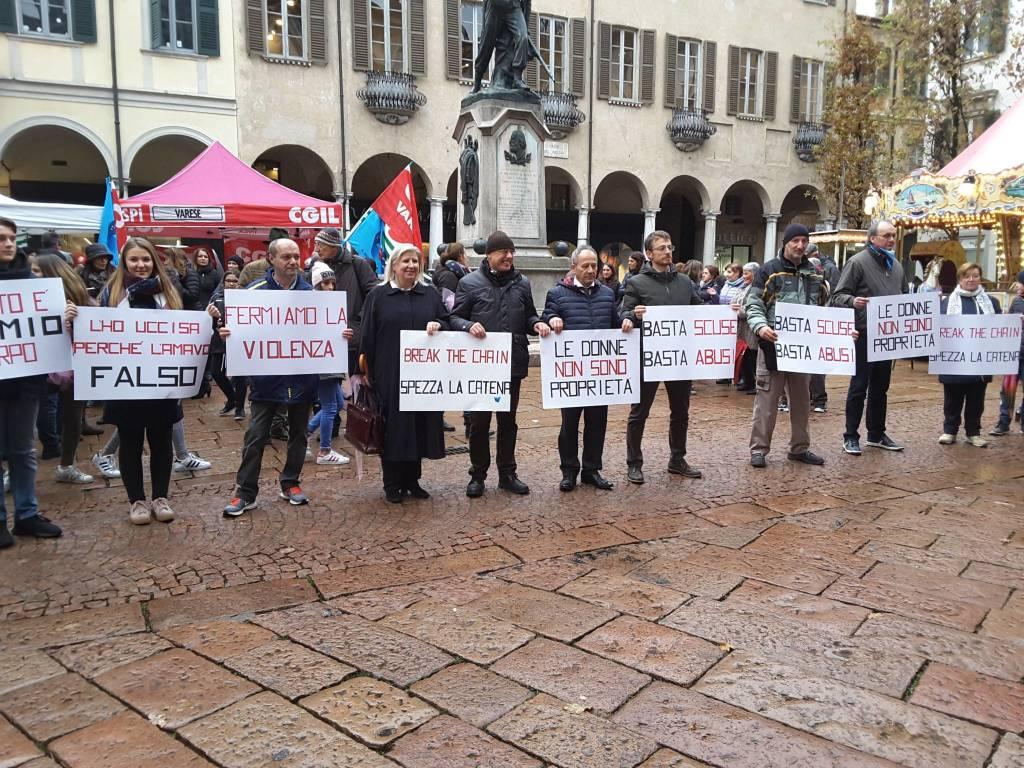 Sindacati in piazza contro la violenza di genere