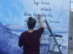 Un murales e una poesia per abbellire la scuola Sereni
