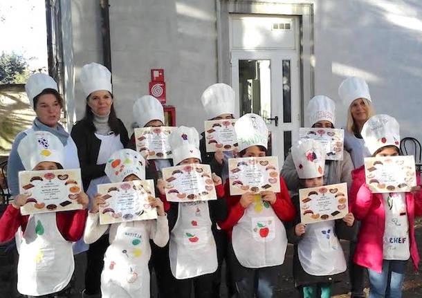"""Si è da poco concluso il primo corso """"Cucina a freddo per bambini""""  dell iniziativa Luino Corsi 2017 2018  i giovani chef si sono sbizzarriti in  diverse ... d23a183fd03c"""