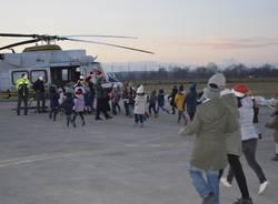 babbo natale elicottero guardia di finanza