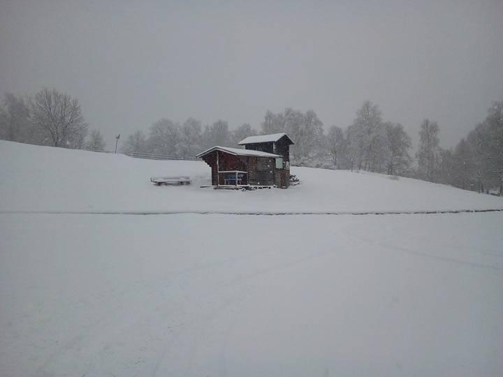 La nevicata in Forcora