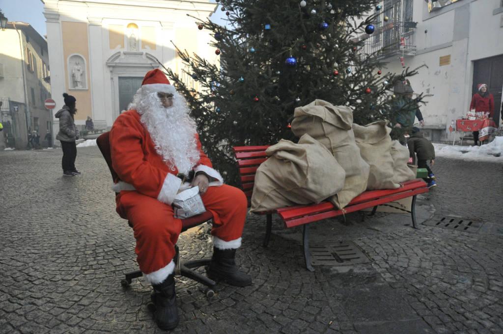 Babbo Natale in piazza