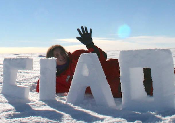 Chiara, dal Polo Sud a Gavirate per insegnare l\'ecologia