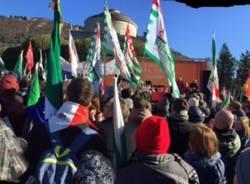 La manifestazione anti-fascista a Como