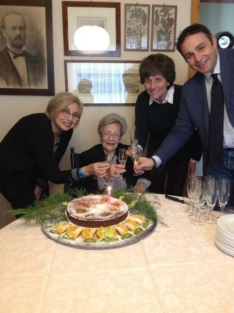 100 anni della signora Fortunata