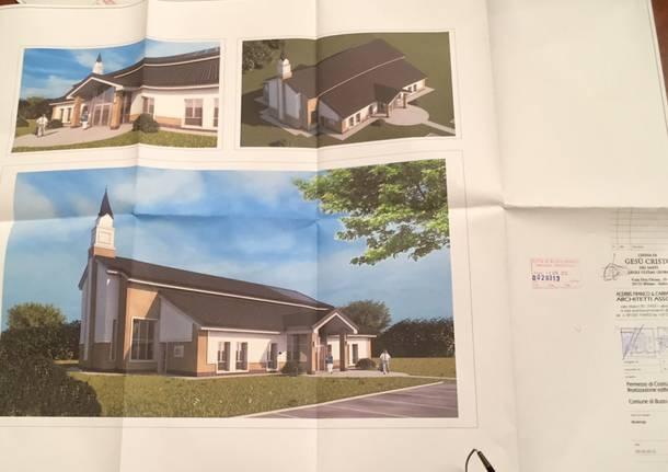 chiesa mormone progetto