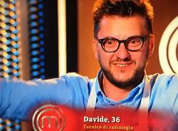 Davide nella cucina di Masterchef