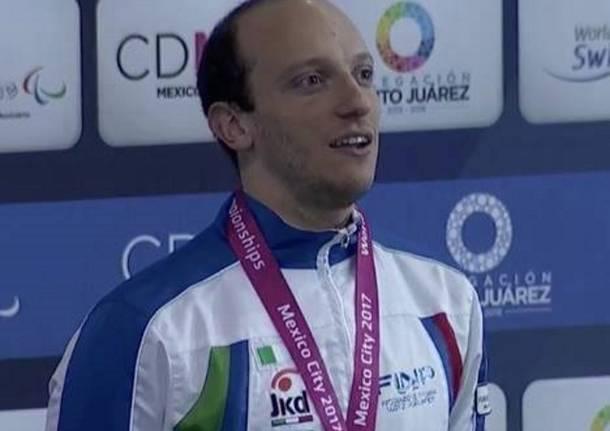 federico morlacchi oro nuoto paralimpico mondiali 2017 polha