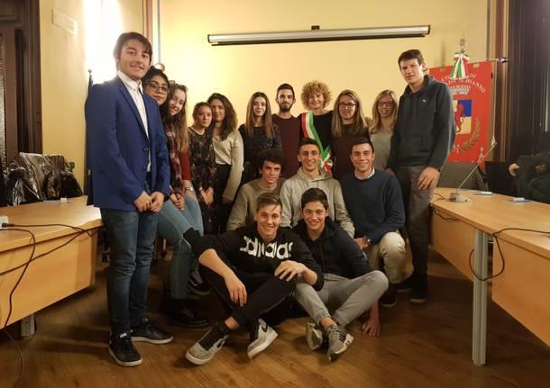 Festeggiati gli studenti e i maggiorenni di Gazzada Schianno