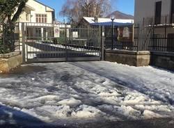 ghiaccio alla scuola Pascoli dicembre 2017