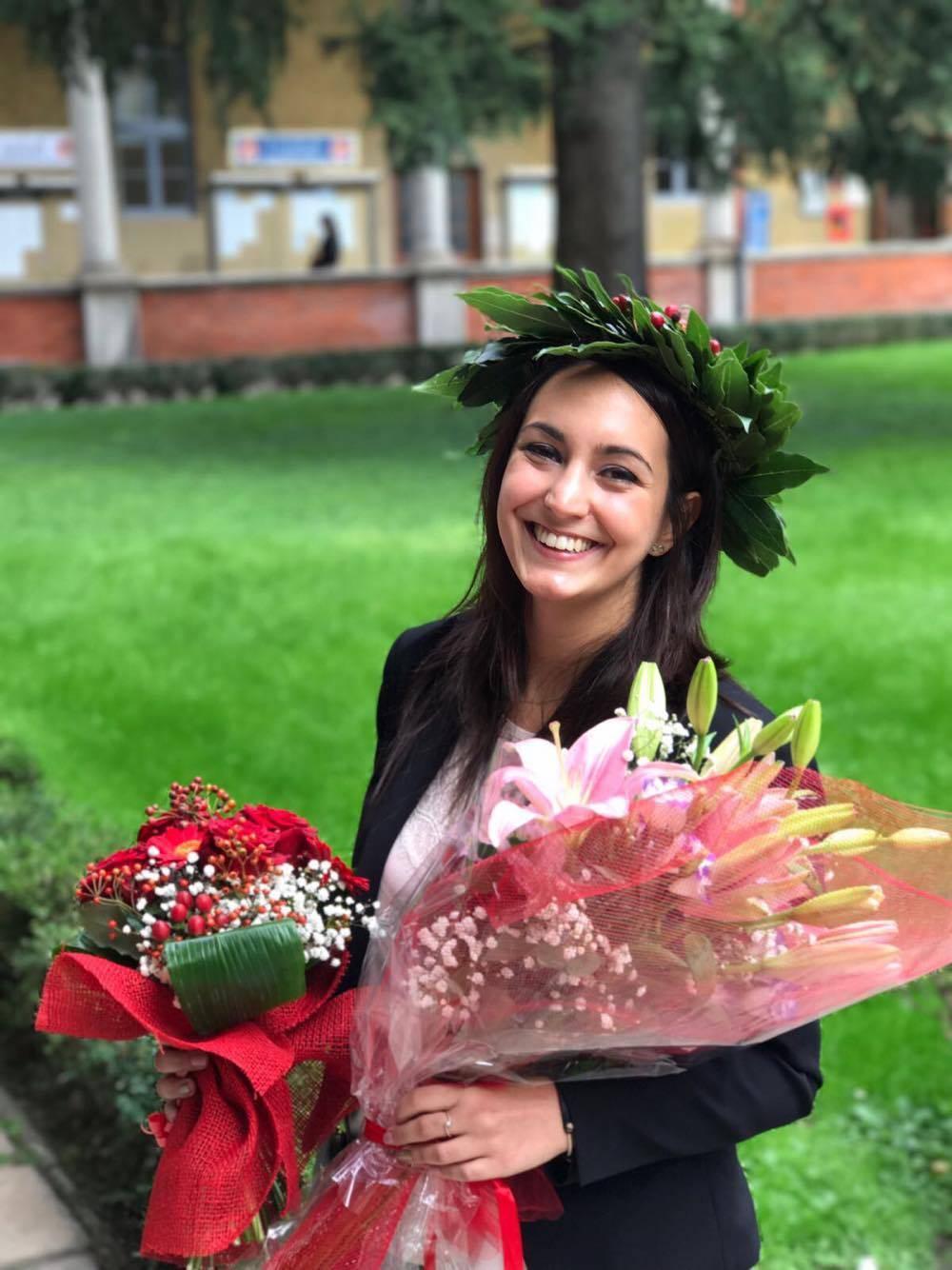 Giulia si è laureata