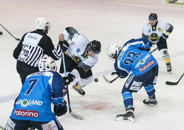 hockey su ghiaccio bandits varese frogs ora