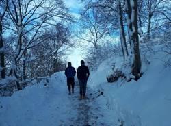 Il Campo dei Fiori sotto la neve
