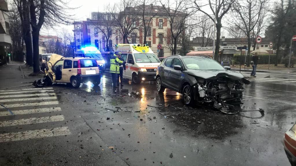 incidente in viale Cadorna