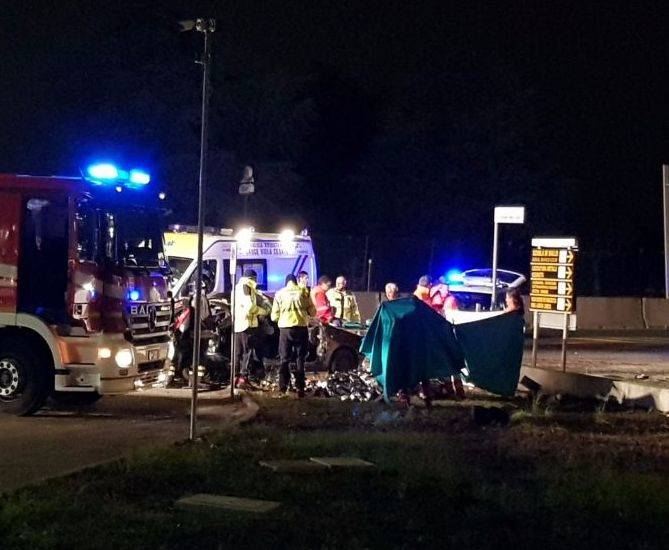 Incidente mortale a saronno