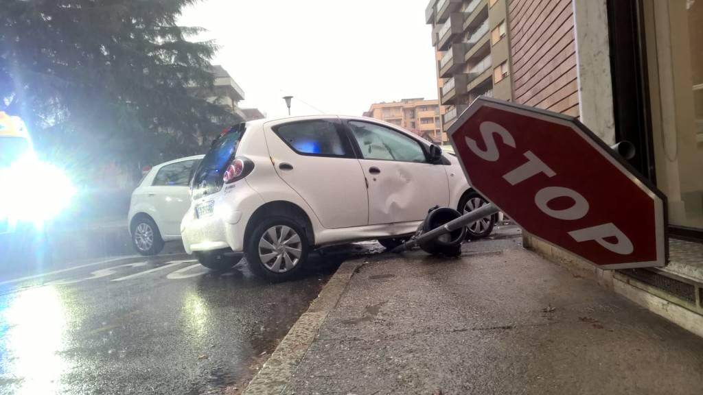 incidente viale diaz busto arsizio