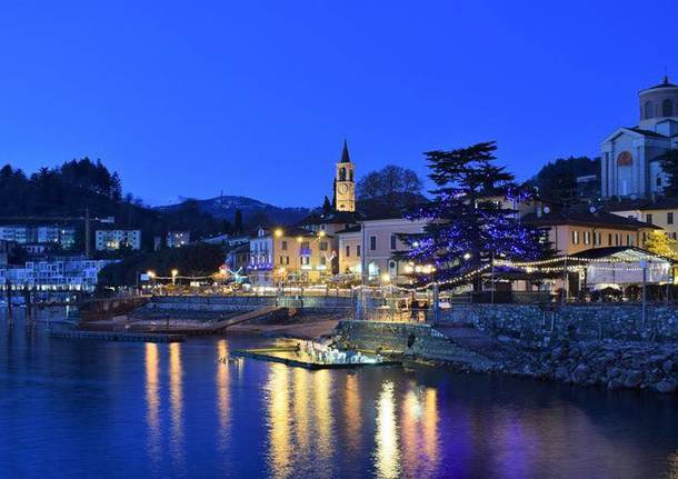 Laveno Mombello by Night