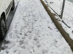 marciapiedi neve ghiaccio