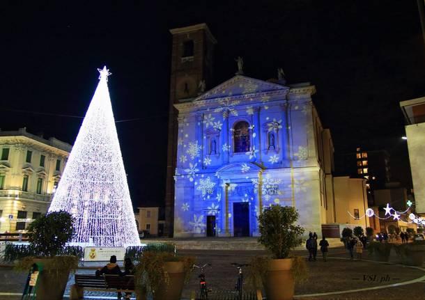 Natale in piazza Libertà a Gallarate