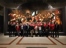 Pallacanestro Varese in visita alle Gallerie d'Italia di Milano